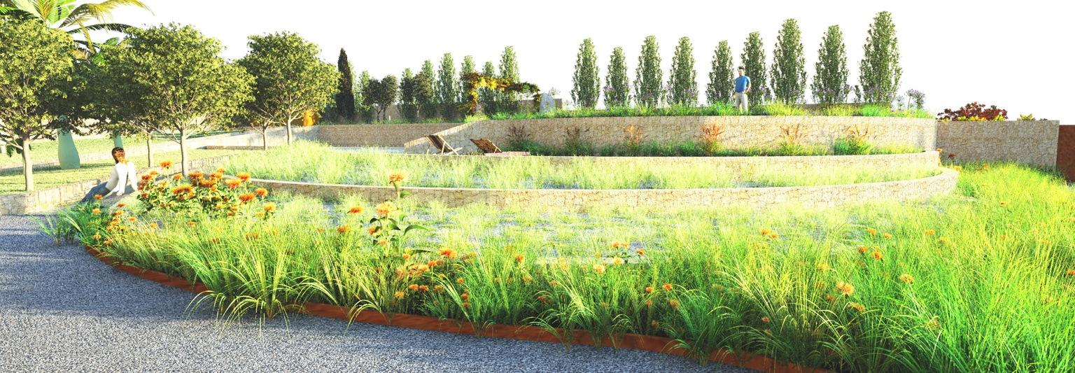 Jardín privado