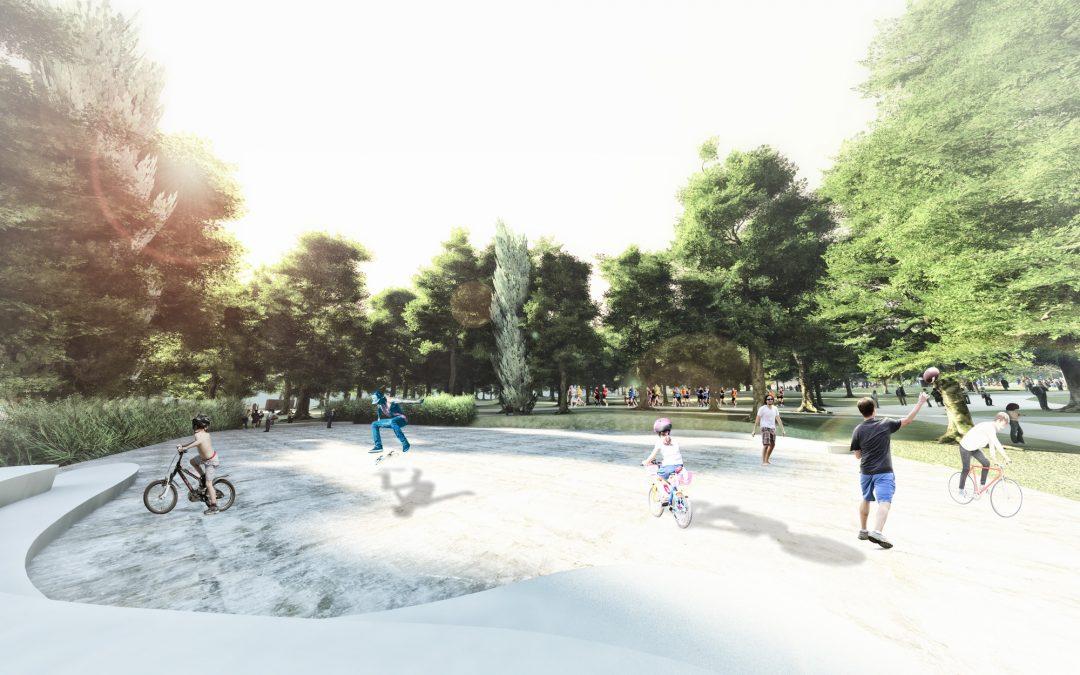 Modelado 3D de jardines. Servicio de modelado 3D para jardinería, paisajismo y arquitectura